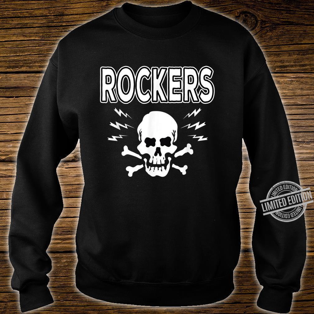 Rockabilly Skull Shirt Rocker Greaser Biker Shirt sweater