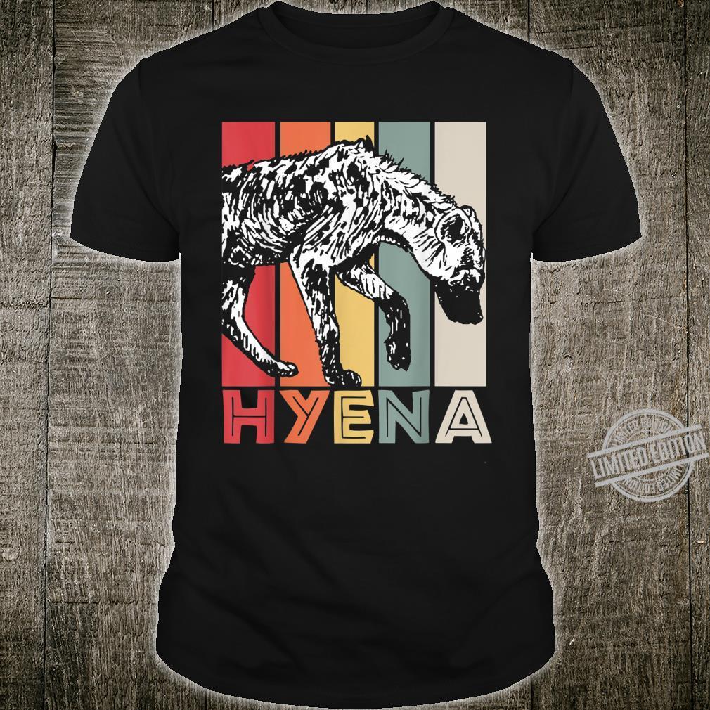 Safari Africa Animal Idea Zoo Keeper Hyena Shirt