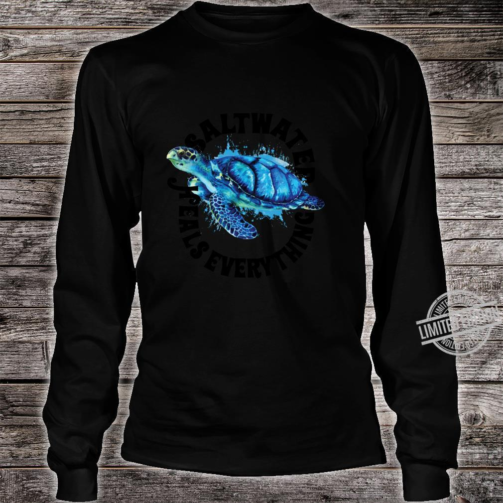 Saltees Saltwater Heals Everything Shirt long sleeved