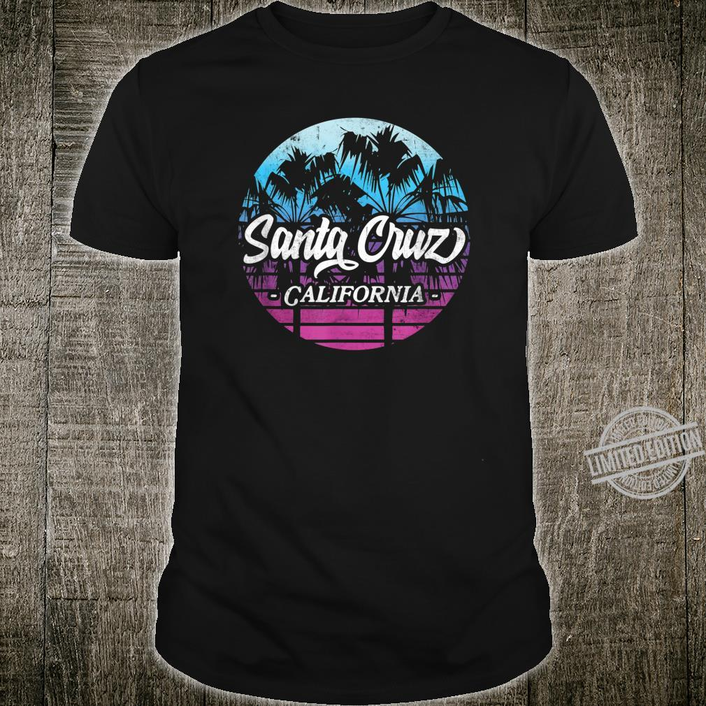 Santa Cruz California vintage retro Shirt