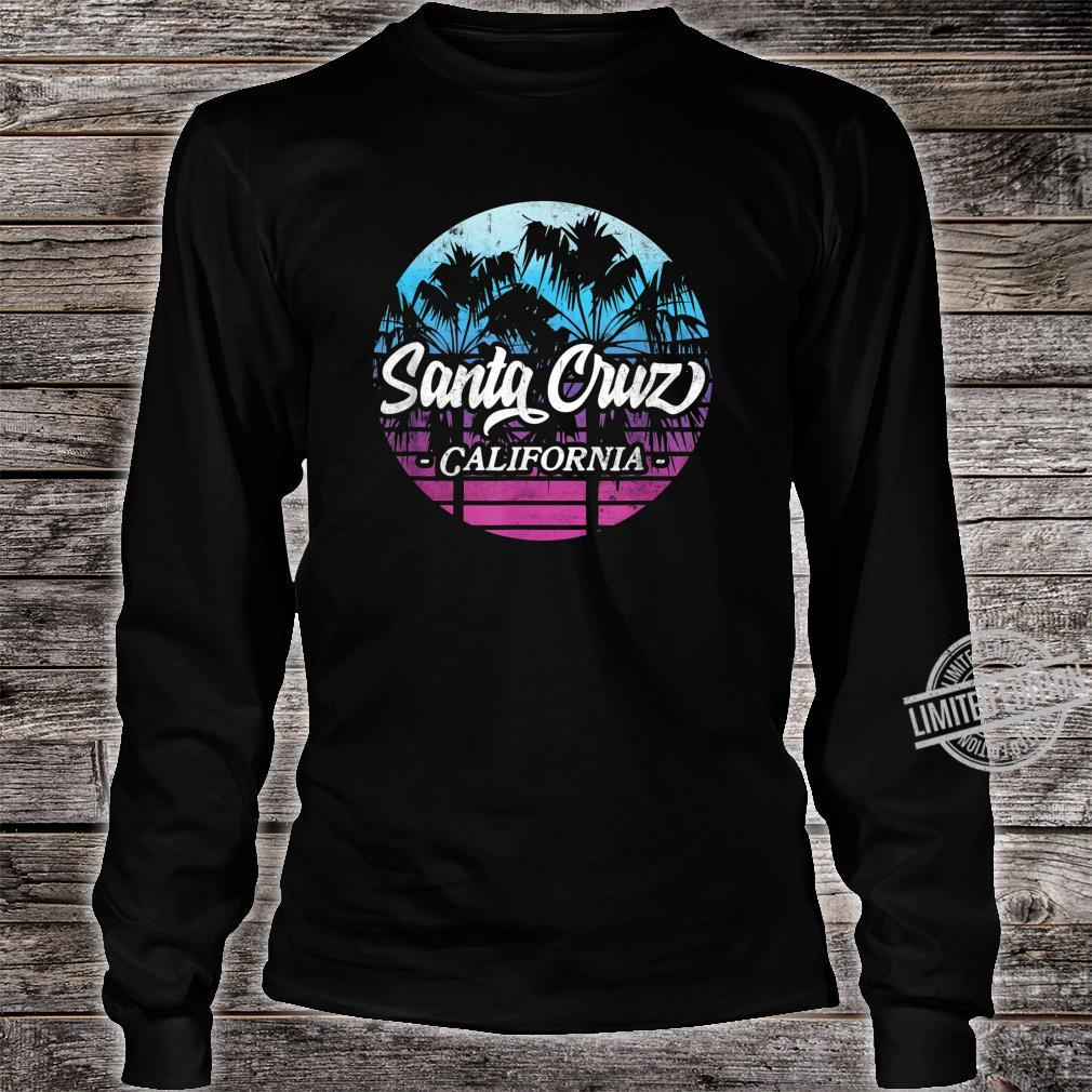 Santa Cruz California vintage retro Shirt long sleeved