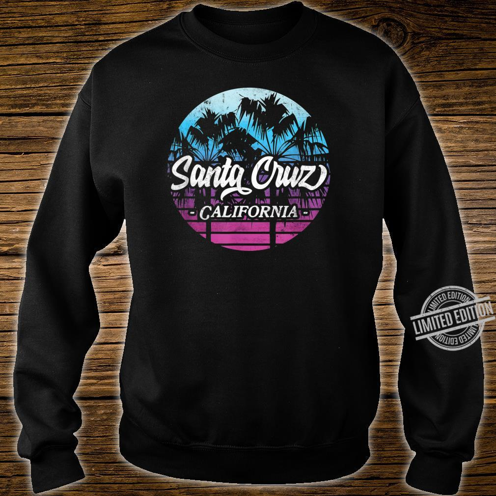 Santa Cruz California vintage retro Shirt sweater
