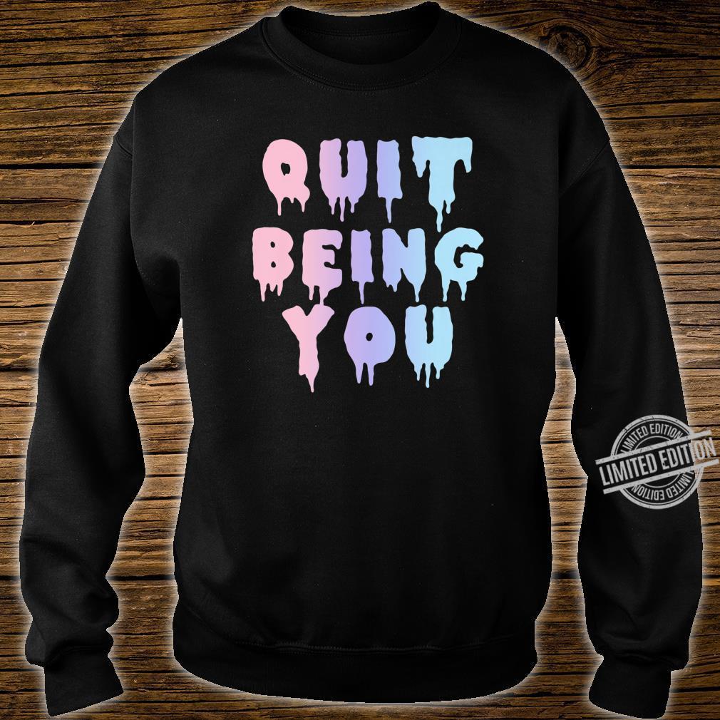 Sarcastic Kawaii Sad Aesthetic Pastel Goth Shirt sweater