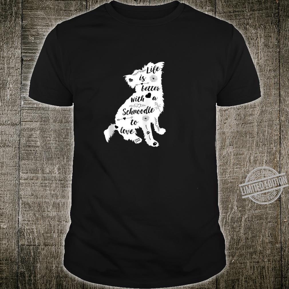 Schnoodle Shirt Design for Schnoodle Dogs Shirt