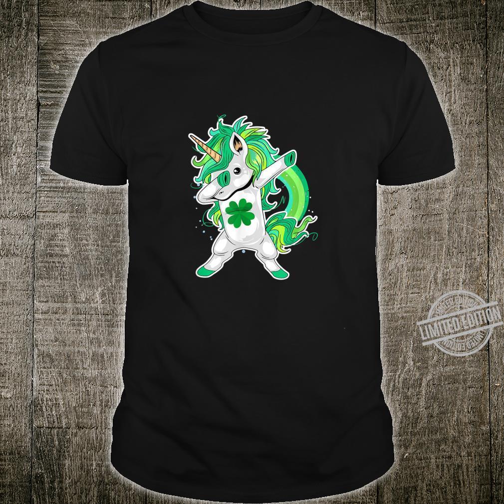 St Patricks Day Lepricorn Dabbing Unicorn Shirt