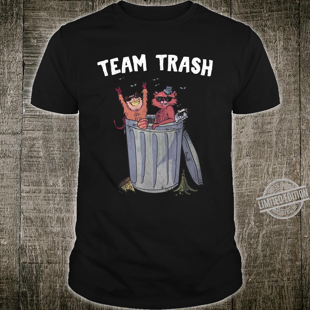 Team Trash Raccoon Possum Rat Garbage Gang Shirt