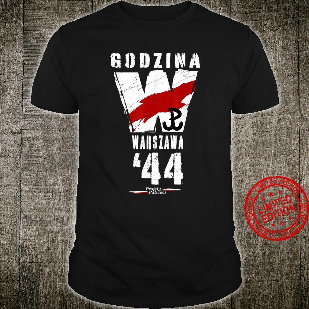 Warsaw Uprising 1944 Polish Patriotic Polska Walczaca Shirt