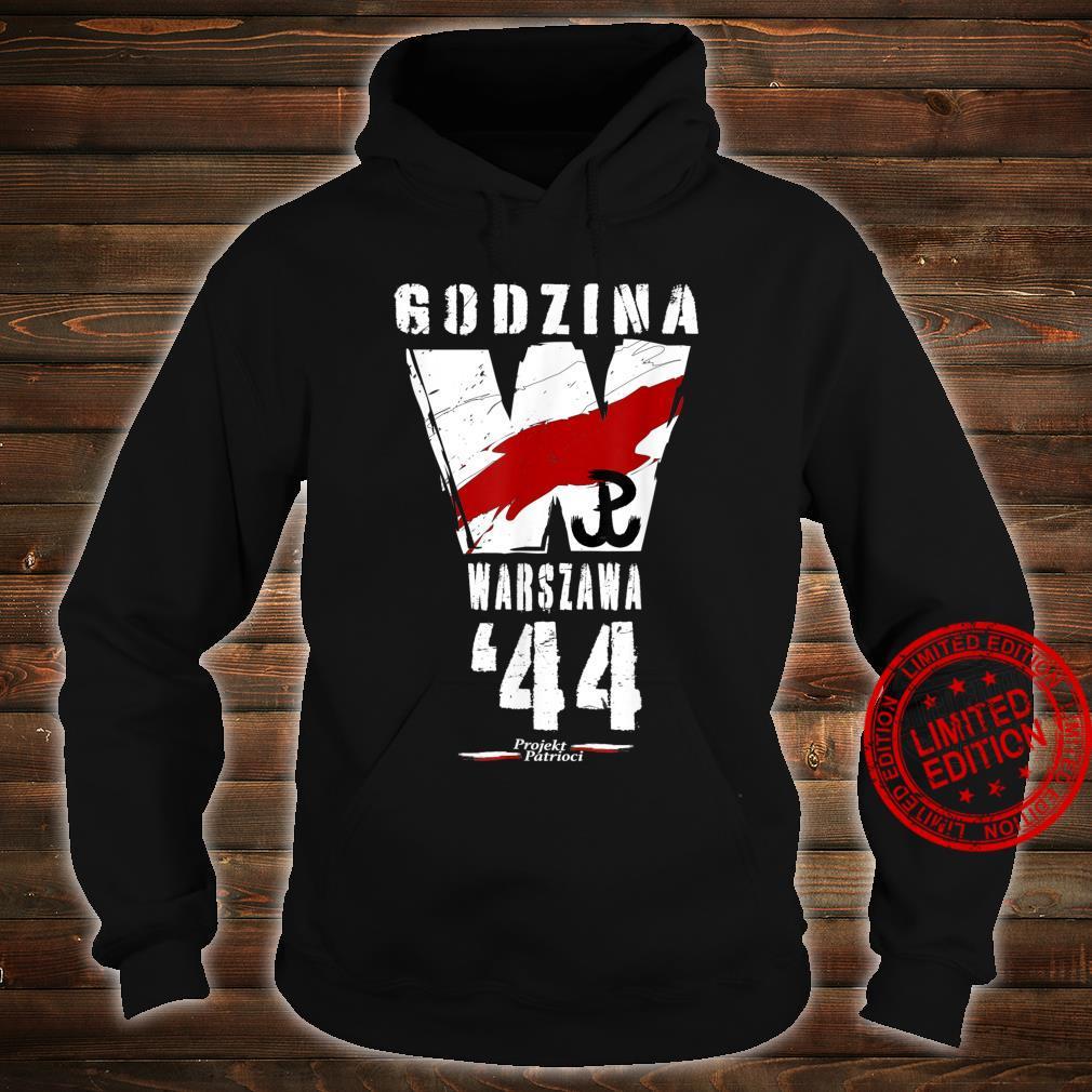 Warsaw Uprising 1944 Polish Patriotic Polska Walczaca Shirt hoodie