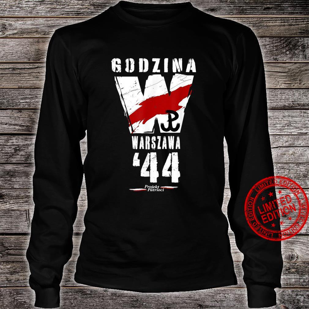 Warsaw Uprising 1944 Polish Patriotic Polska Walczaca Shirt long sleeved