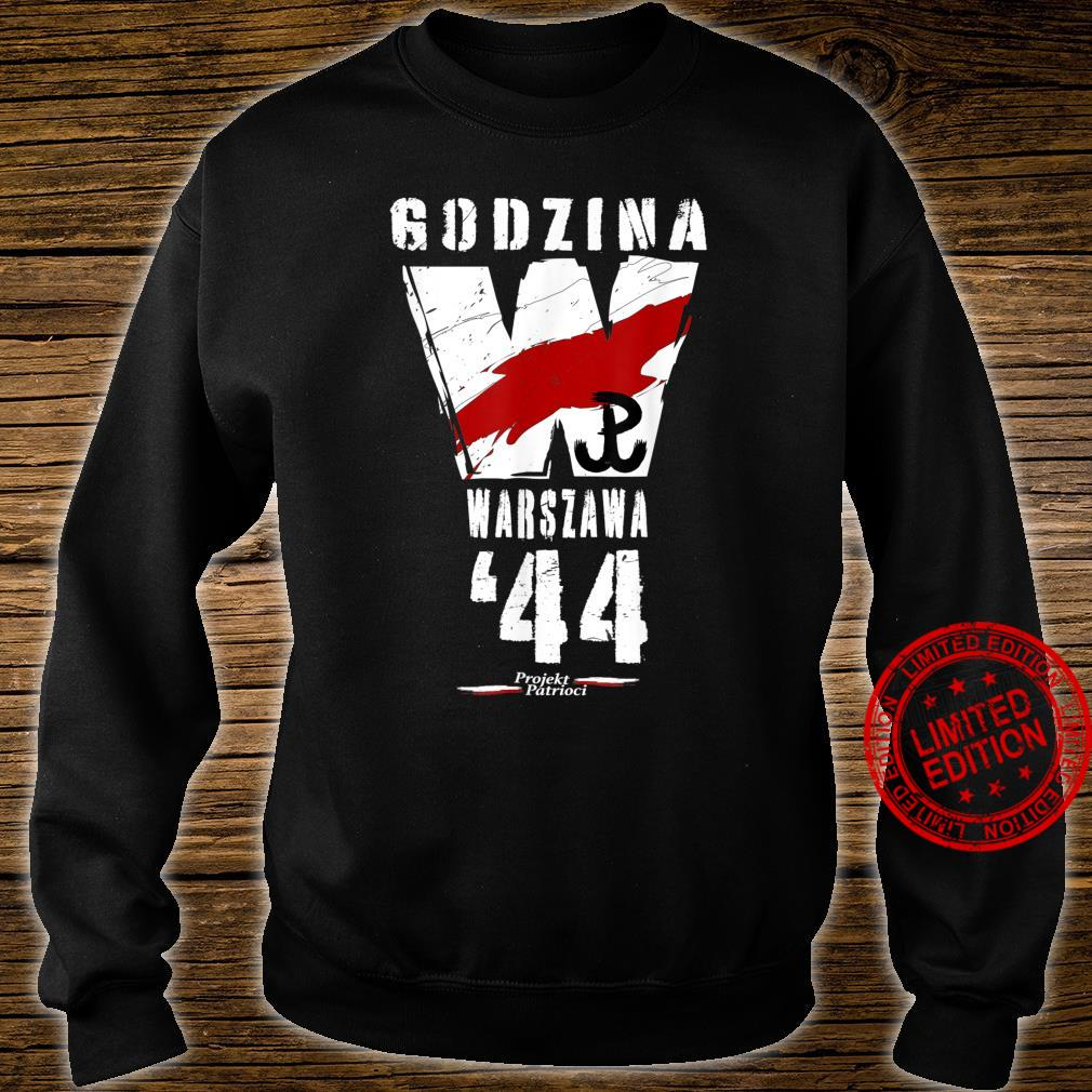Warsaw Uprising 1944 Polish Patriotic Polska Walczaca Shirt sweater