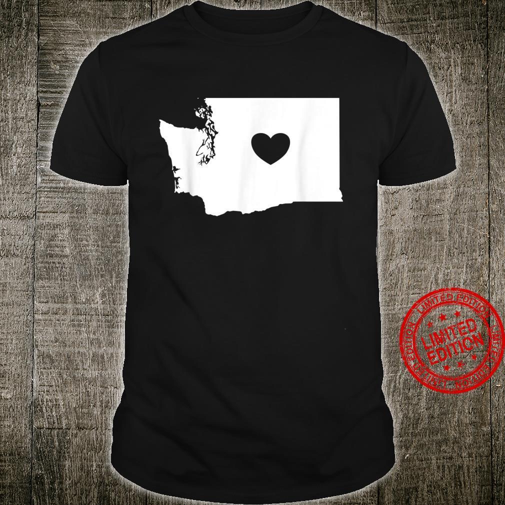 Washington Heart State Silhouette Shirt