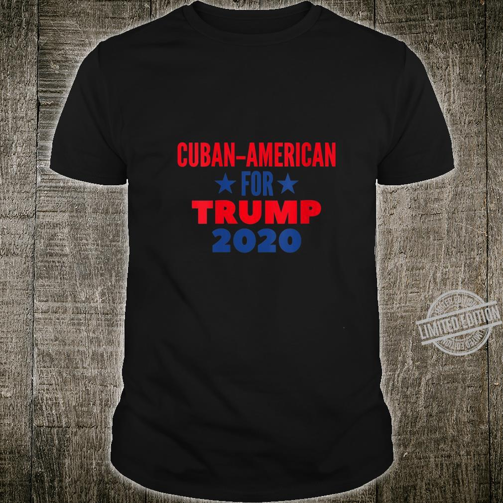 Womens Cuban American For Trump 2020 Shirt