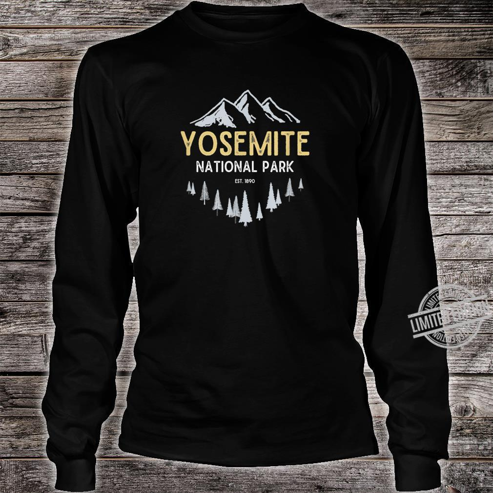 Yosemite National Park Vintage National Park Retro Est 1890 Sweatshirt